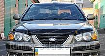 Дефлектор Хендай Елантра 3 XD (мухобійка на капот Hyundai Elantra 3 XD)