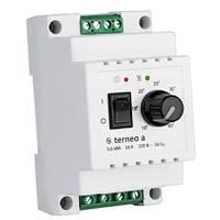 Механический терморегулятор для теплого пола Terneo a на DIN-рейку