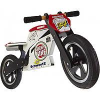 """12"""" Kiddi Moto Heroes деревянный, с автографом Kevin Schwantz, Беговел, велосипед без педалей"""