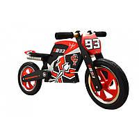 """12"""" Kiddi Moto Heroes деревянный, с автографом Mark Marques, Беговел, велосипед без педалей"""