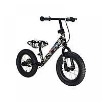 "12"" Kiddi Moto Super Junior MAX SUPER SKULLZ, Беговел, велосипед без педалей"