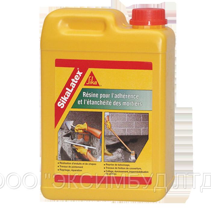 SikaLatex - жидкая добавка для мелкозернистых смесей и бетона на цементной основе, 20кг