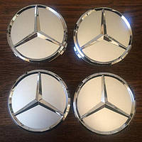 Колпачки для дисков Mercedes-Benz 75мм, колпачки на диски