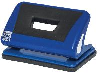 Діркопробивач пластиковий з гумовою вставкою, (до 10арк.), синій