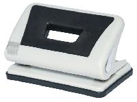 Діркопробивач пластиковий з гумовою вставкою, (до 10арк.), сірий
