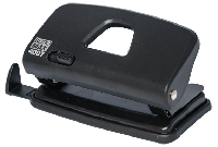 Діркопробивач пластиковий (до 10арк.), чорний