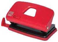 Діркопробивач пластиковий (до 10арк.), червоний