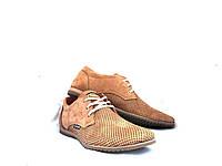 Туфли мужские Yuves с натуральной кожи летние