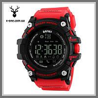 Умные Часы SKMEI Smart 1227 Red. Водонепроницаемость 50 м., фото 1
