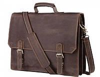 Кожаный мужской портфель TIDING BAG GА2095R