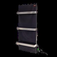 Керамічна панель обігрівач DIMOL Standart Plus 07 з сушкою рушників  (чорний графіт), фото 1
