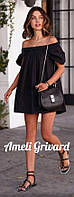 Черное платье - туника