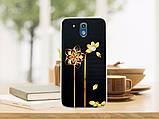 Силиконовый бампер для HTC Desire 526G с рисунком плитка шоколада, фото 4