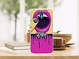 Силиконовый бампер для HTC Desire 526G с рисунком плитка шоколада, фото 10
