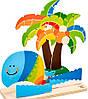 Набор для раскрашивания Тропический остров Hape