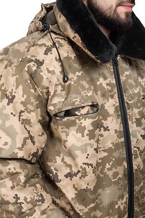 Куртка зимняя ВСУ Пилот пиксель, фото 2