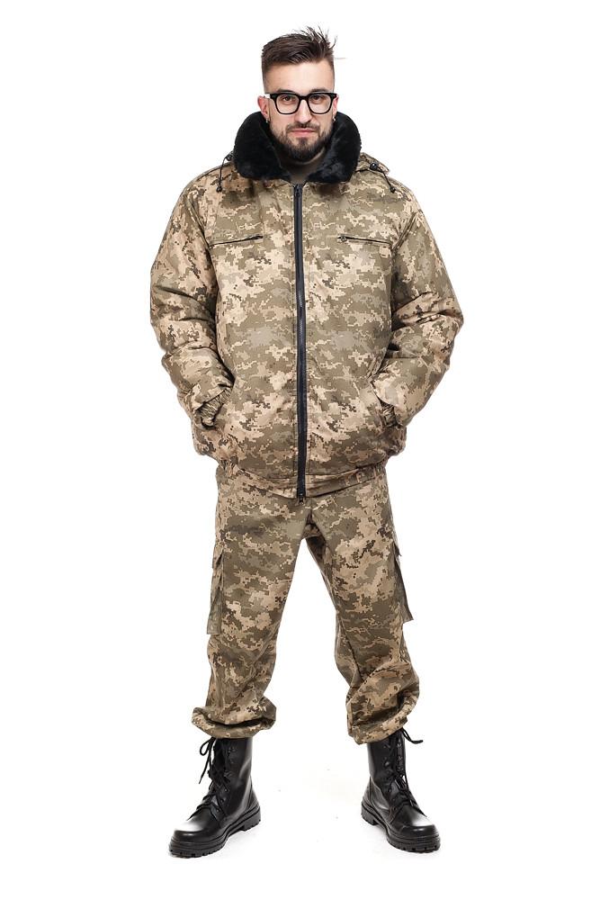 Куртка зимняя ВСУ Пилот пиксель
