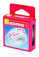 """Стрічка клейка канцелярська 19 мм x 33 м """"Cristal"""" Kores, прозора, картонна коробка"""