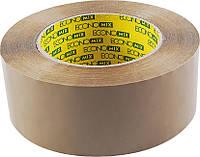 Стрічка клейка пакувальна 48 мм х 200 м Economix, коричнева