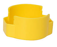 "Оснастка автомат., GRAFF 46040 HUMMER ""GLOSSY"" пласт., для печатки d 40 мм, жовта з футляром"