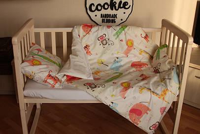 """Постіль у дитяче ліжечко """"Джунглі"""""""