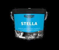 Stella искрящееся декоративное покрытие с перламутровыми частицами и стеклянными микросферами - 3 кг.