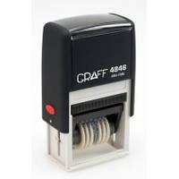 Нумератор Trodat пластмассовый 6-разрядный, шрифт 4 мм 4846