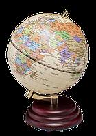 Глобус Bestar на деревянной подставке красное дерево 95 мм 0909WPM