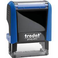 Оснащення TRODAT Printy 4911, 38х14 мм, корпус: синій (4911 P4) (Австрія)