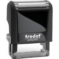Оснащення TRODAT Printy 4911, 38х14 мм, корпус: чорний (4911 P4) (Австрія)