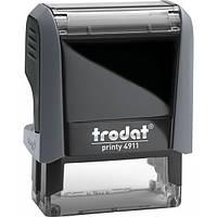 Оснащення TRODAT Printy 4911, 38х14 мм, корпус: сірий (4911 P4) (Австрія)