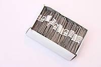 Шпильки  серебро 70 мм. 0,5. кг.