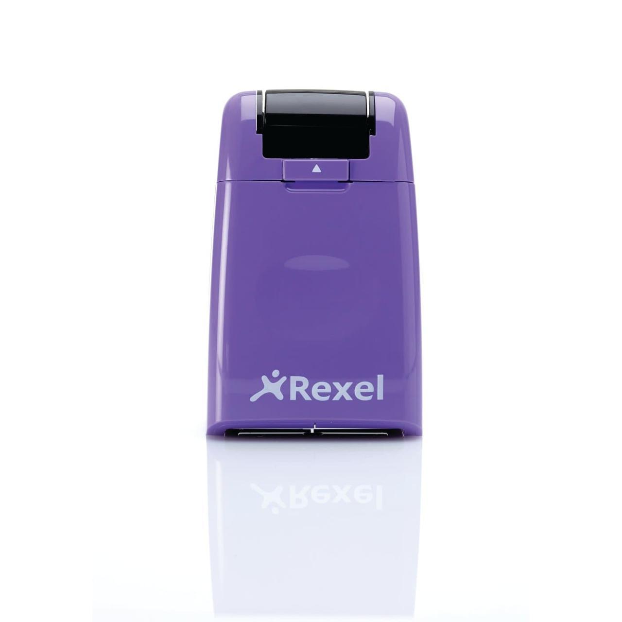 Штамп для скрытия личных данных Rexel ID Guard Roller, фиолетовый (2114007)
