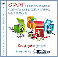 Наполнение сайта на портале prom.ua - Стартуй с умом вместе с Annika13