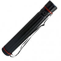Тубус Leniar для черчения 75-135 см   12 см   черный 50033