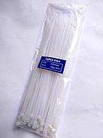 Кабельные стяжки (хомуты) 4x250mm (упаковка 100шт) Белые