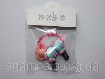 Заколки и резинка детские набор
