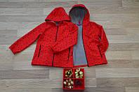 Детская весенняя куртка ( ветровка) на рост 122-128-134-140см