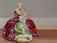 Статуэтка Женщина с ребенком Фарфор Италия Ручная Работа