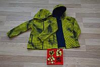Детская весенняя куртка ( ветровка) на рост, 98,104,110 и 116см