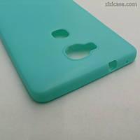 Силиконовый матовый чехол для Huawei Honor 5X (мятный)