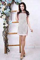 Розовое женское платье Амалия ТМ Irena Richi 42-48 размеры