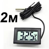 Термометр электронный Mini 2M ( черный, 2 метра )