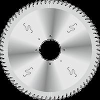 Пила D350B4,4b3,2d80z72 для пильных центров (зубья трапеция) GDA Италия