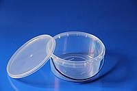 Ведро 0,5 л. пластиковое с крышкой для пищевых продуктов