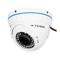 Видеокамера AHD купольная (3 Мп) Tecsar AHDD-30V3M-out