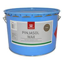 Цветная пропитка с добавлением воска PINJASOL WAX (Тиккурила) орех, фото 1
