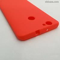 Силиконовый матовый чехол для Huawei Nova (коралловый)