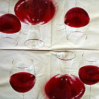 Салфетка декупажная 33x33 см 14 Вино в графине
