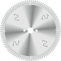 Пила D350B3,4b2,6d32z108 для резки алюминиевого профиля GDA Италия
